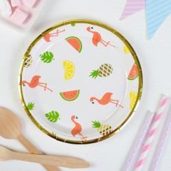 Набор тарелок Тропики набор 18см 6шт