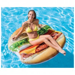 "Плот для плавания ""Гамбургер"" 145х142 см, 58780EU 3947901"