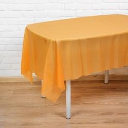 Скатерть Праздничный стол оранжевый 137х183см