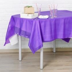 Скатерть Праздничный стол фиолетовый 137х183см