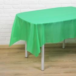 Скатерть Праздничный стол зеленый 137х183см