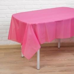 """Скатерть """"Праздничный стол"""" 137*183 см, цвет розовый 1019753"""