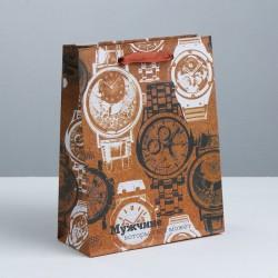 Пакет крафтовый вертикальный «Мужчине, который может всё», ML 23 × 27 × 8 см 3680949