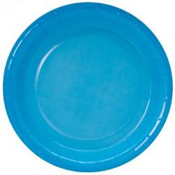 Тарелки (7''/18 см) Голубой, Градиент, 6 шт.