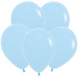 S Пастель Матовый 12 Нежно-голубой / Blue / 100 шт. / (Колумбия)