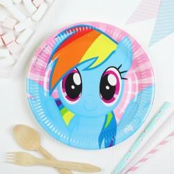 """P Тарелки 23 см """"Моя маленькая Пони - 2"""" / Pony & Friends / набор 8 шт. / (ЕС)"""