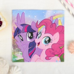 """P Салфетки 33*33 см """"Моя маленькая Пони - 2"""" / Pony & Friends / набор 20 шт. / (ЕС)"""