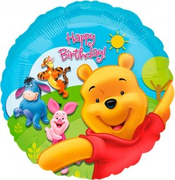 A 18 Круг Винни Пух и друзья СДР / Pooh and Friends HBD S60 / 1 шт / (США)