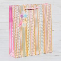 Пакет ламинированный вертикальный «Для тебя с заботой», L 30 × 41 × 11,5 см 2816450