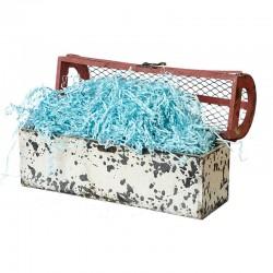 Наполнитель для коробок Бумажный Голубой 100гр
