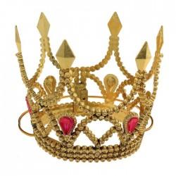 корона принцессы на веревочке золото 319557