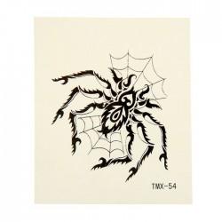"Татуировка на тело ""Паук в паутине"" 5,3х6,3 см 1252285"