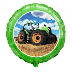Шар Круг Трактор 48см