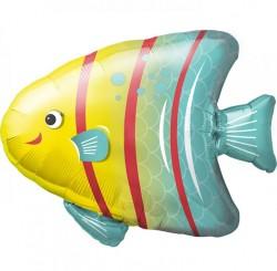 Шар Фигура Яркая рыбка 79см