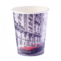 Стакан бумажный Париж 250мл