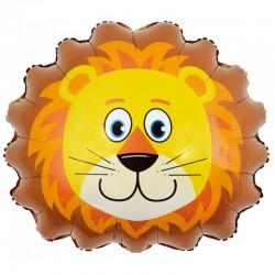 Шар с клапаном Мини-фигура Голова Льва 41см