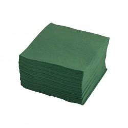 Салфетки 24*24 1сл, зелен, 500шт в уп.