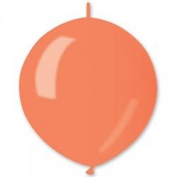 Линколун Металлик оранжевый 30см