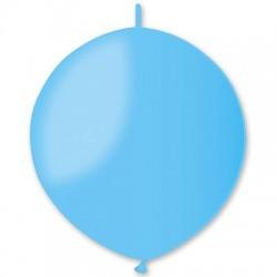 Линколун Пастель голубой 30см