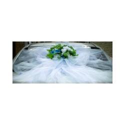 Бант фатиновый Укр14-11-0703 на заднее стекло 110х150см