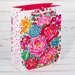 Пакет ламинированный вертикальный «Прекрасные цветы», S 11 × 14 × 5,5 см 2678935