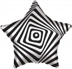 Шар звезда Иллюзия 53см