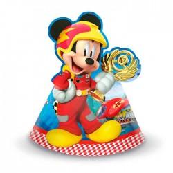 "P Колпаки ""Микки Маус Гонщик"" / Mickey Roadster / набор 6 шт. / (Китай)"