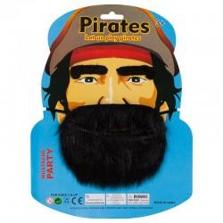 """Набор """"Пират"""" (борода, брови) / 1 шт. / (Китай)"""