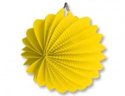 Фонарик бум круглый желтый 25см/G