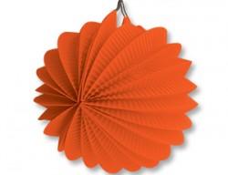 Фонарик бум круглый оранжевый 25см/G