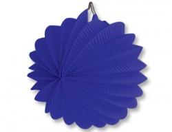 Фонарик бум круглый синий 25см/G