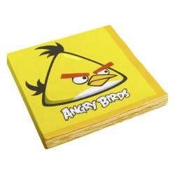 Салфетка Angry Birds 33см 16шт/А