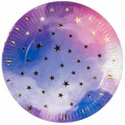 Тарелки (7''/18 см) Звездное небо, 6 шт.