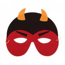 карнавал маска чертенок 730903