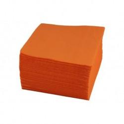 Салфетки 24*24 1сл, оранжевые, 500шт в уп.