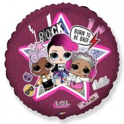 И 18 Круг Куклы LOL Рок-звезда / RD.LOL STAR / 1 шт / (Испания)