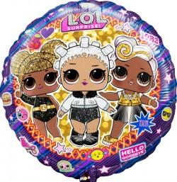 И 18 Круг Куклы LOL / RD.LOL / 1 шт / (Испания)