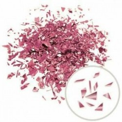 Конфетти Дробленые металлизированные роза голд / 250 г