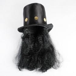 """Карнавальная шляпа """"Колдун"""" с волосами 4449303"""