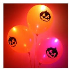 Набор шаров с подсветкой Halloween 3шт/G