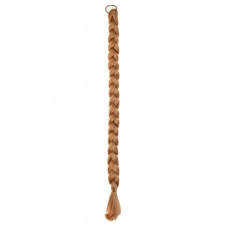 Коса на резинке 80 см, цвет русый 3538142