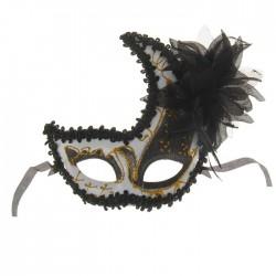 """Карнавальная маска """"Эйфория"""" с цветком 2311744"""
