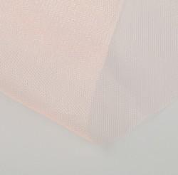 Фатин для свадебного декора, 1х1 м, персиковый