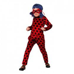 """Карнавальный костюм """"Леди Баг"""", водолазка, легинсы, маска, р. 28, рост 110 см 2220274"""