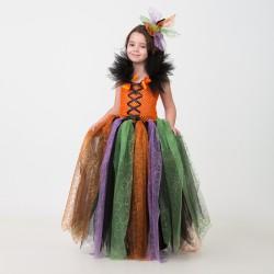 """Карнавальный костюм """"Ведьмочка"""", сделай сам, корсет, ленты, брошки, аксесуары 3947670"""