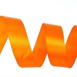Лента Атлас Оранжевый / 7 мм * 22,85 м (Китай)