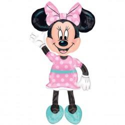 Ходячая фигура Минни Маус в розовом в упаковке / Minnie Mouse 137см