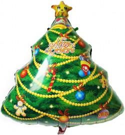 Шар Фигура Новогодняя елка 74см