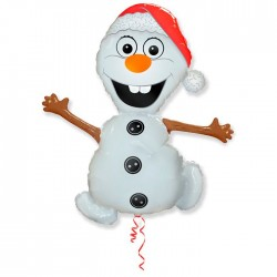 И 39 Снеговик в шапочке / Snowman SIM / 1 шт / (Испания)