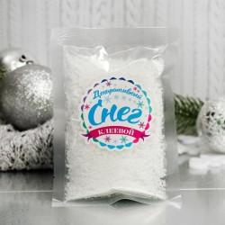 """Снег искусственный клеевой для декора """"Лед со снегом"""" 60 г 3609133"""